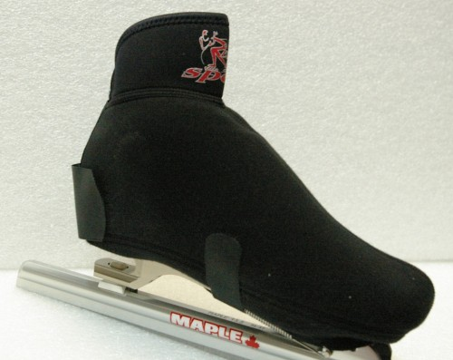 Speed skating boot covers