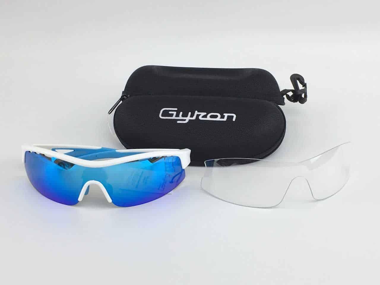 lunette gyron blanc